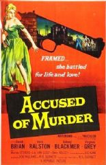Accused of Murder 1956 DVD - David Brian / Vera Ralston